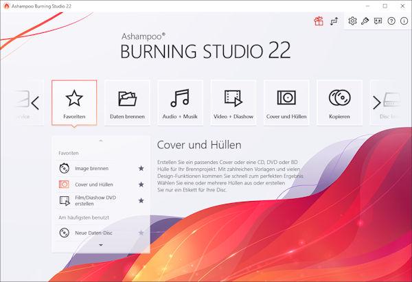 Ashampoo® Burning Studio 22