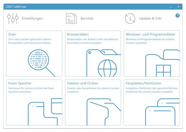 O&O SafeErase 16 - Daten sicher und endgültig löschen