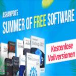 Ashampoo Summer of Free Software - Kostenlose Vollversionen