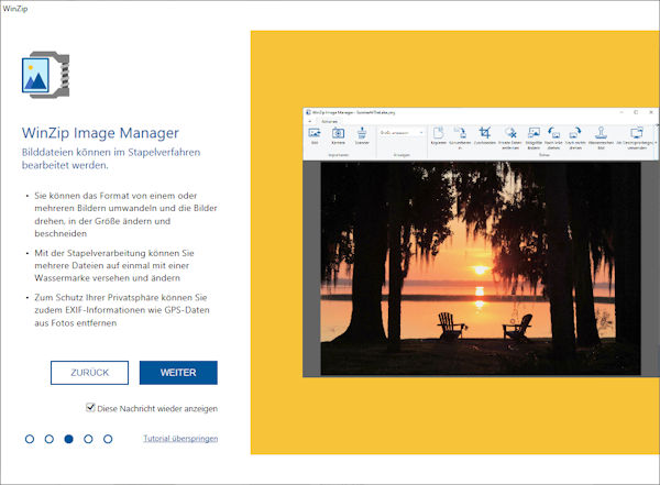 WinZip 26 Pro Image-Manager