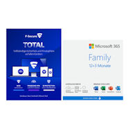 Microsoft 365 Family Angebot plus F-Secure Total